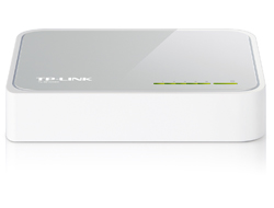 TP-LINK TL-SF1005D 5-Port 10/100Mbps Desktop Switch - Switch - 5 x 10/100 - Desktop