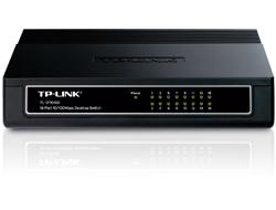 TP-LINK TL-SF1016D 16-Port 10/100Mbps Desktop Switch - Switch - 16 x 10/100 - Desktop