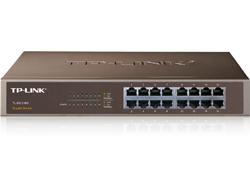 TP-LINK TL-SG1016D 16-Port Gigabit Switch - Switch - nicht verwaltet - 16 x 10/100/1000 - Desktop
