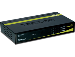 TRENDnet TEG S50G - Switch - 5 x 10/100/1000 - Desktop
