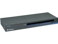 TRENDnet TK 1603R - KVM-/USB-Switch - 16 x KVM / USB - 1 lokaler Benutzer - an Rack montierbar