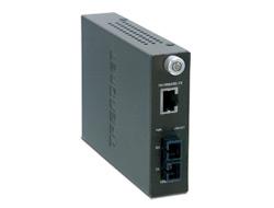 TRENDnet TFC-1000S70 - Medienkonverter - Gigabit Ethernet - 1000Base-LX, 1000Base-T - RJ-45 / SC Einzelmodus - bis zu 70 km
