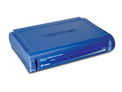 TRENDnet TE100 S8 - Switch - 8 x 10/100 - Desktop