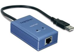 TRENDnet TU2-ET100 - Netzwerkadapter - USB 2.0 - 10/100 Ethernet