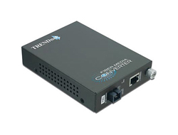 TRENDnet TFC-1000S10D3 - Medienkonverter - Gigabit Ethernet - 1000Base-LX, 1000Base-T - RJ-45 / SC Einzelmodus - bis zu 10 km