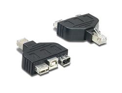 TRENDnet TC-NTUF - USB / FireWire-Adapter - USB, Firewire