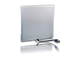 TRENDnet TEW AO14D - Antenne - Wand montierbar - 14 dBi - gerichtet