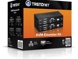 KVM USB Extension Kit Erweitert Reichweite bis 100m