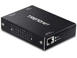 TRENDnet TPE-E100 - Repeater - Gigabit Ethernet - 10Base-T, 100Base-TX, 1000Base-T - RJ-45 / RJ-45 - bis zu 100 m
