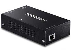 TRENDnet TPE-E110 - Repeater - Gigabit Ethernet - 10Base-T, 100Base-TX, 1000Base-T - RJ-45 / RJ-45 - bis zu 100 m