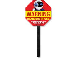 VIDEO SURVEILLANCE YARD SIGN