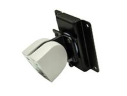 Ergotron 100 Series Pivot Single - Befestigungskit (ein Gelenk) für Flat Panel - Grau, Schwarz - Wandmontage möglich